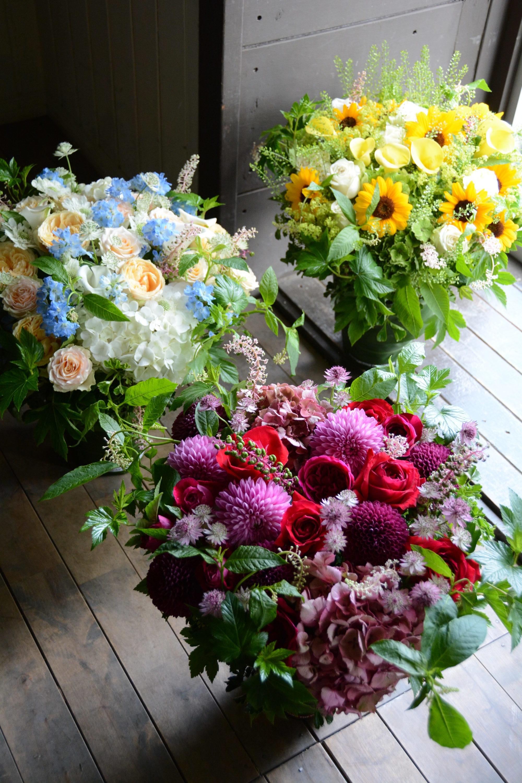 季節の花を贈る「フラワーギフト」